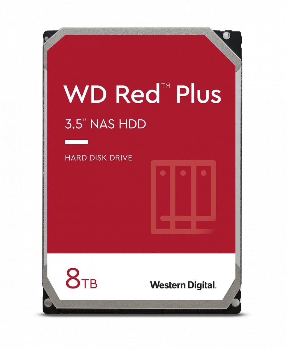 """WD Red Plus 3,5"""", 8TB, 7200RPM, 256MB cache"""