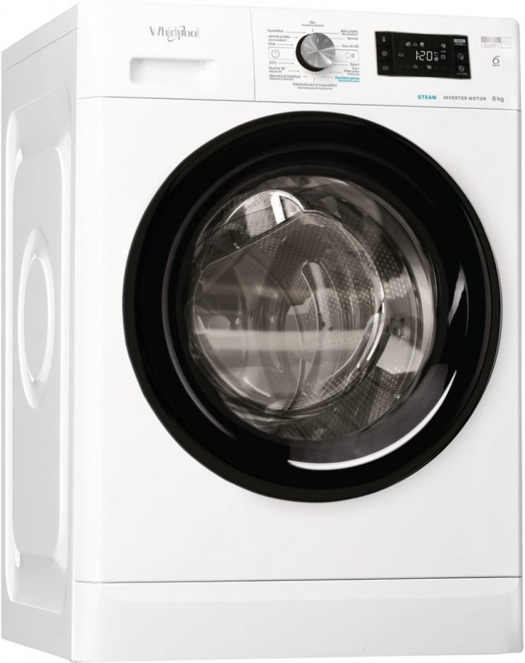 Whirlpool FFB 8448 BV CS, práčka predom plnená