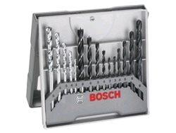 X-Pro Bosch 15ks vrtákov, drevo, kov, kameň