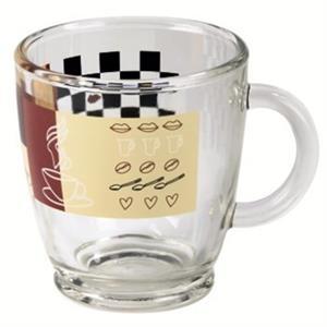 Xavax hrnček na kávu zo skla, balenie 6 ks
