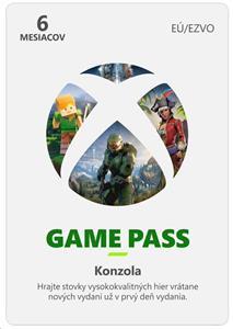Xbox Game Pass 6 Month Membership ESD