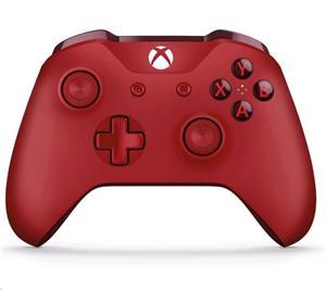XBOX ONE, bezkáblový gamepad pre XBOX ONE a Windows 10, červený