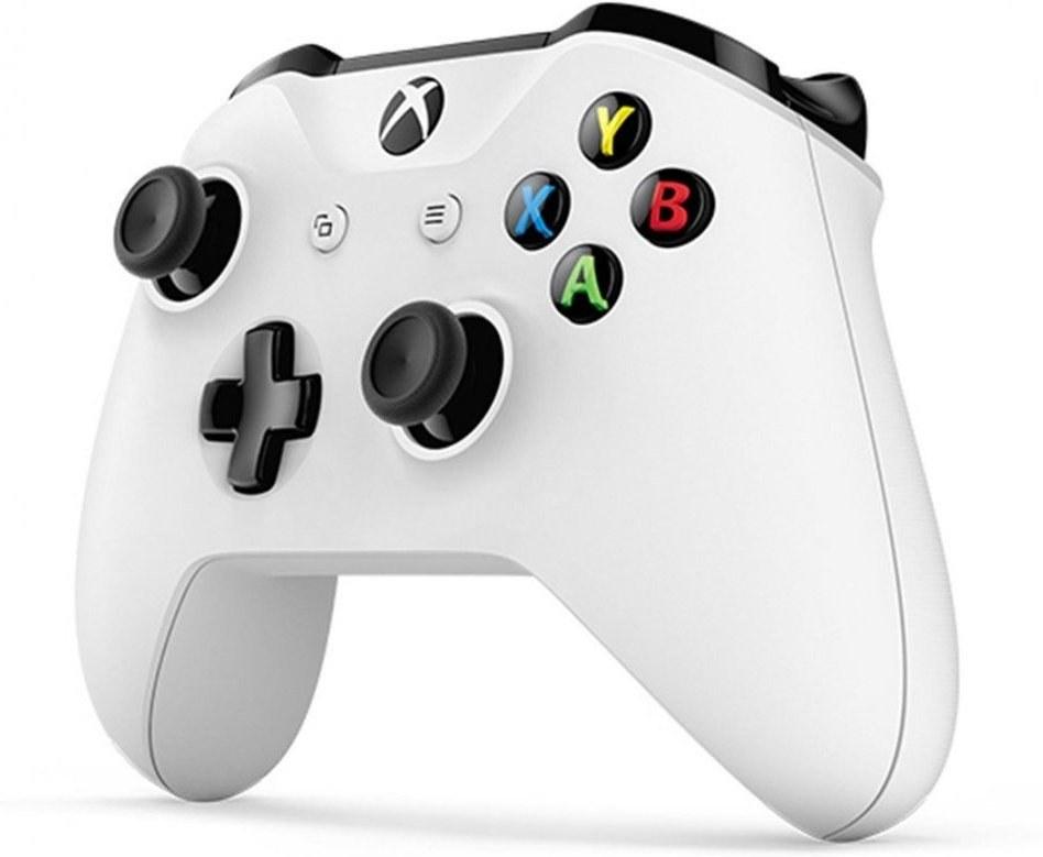 XBOX ONE S bezdrôtový gamepad, biely