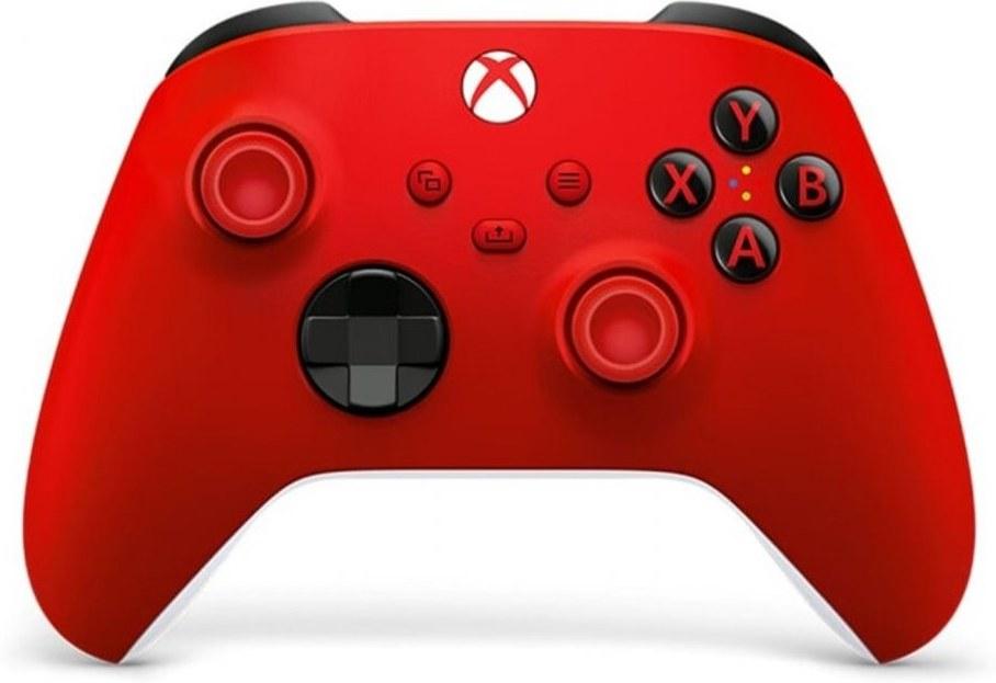 Xbox One Series, bezdrôtový gamepad, červený