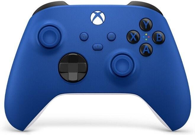 Xbox One Series, bezdrôtový gamepad, modrý