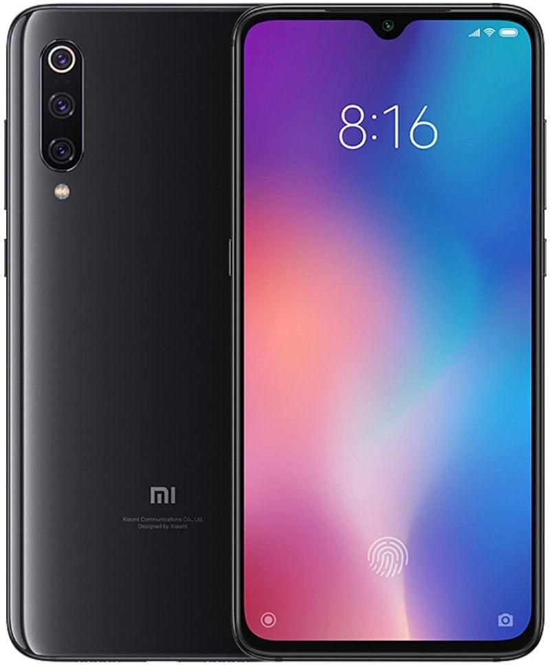 Xiaomi Mi 9, 64 GB, čierny