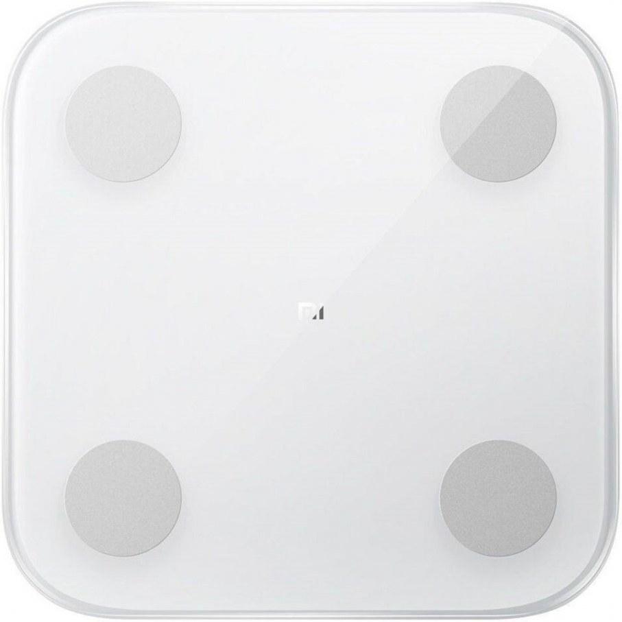 Xiaomi Mi Body Composition Scale 2, inteligentná váha, biela - otvorené balenie