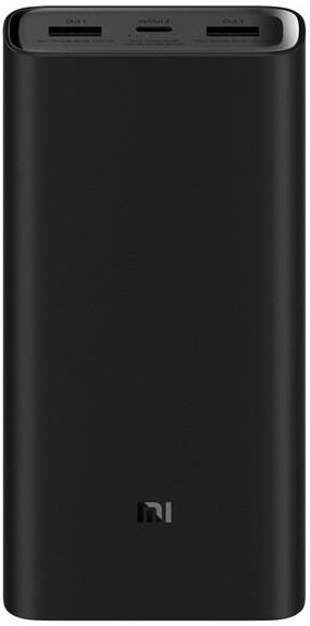 Xiaomi Mi Powerbanka 3 PRO, 20000 mAh, čierna