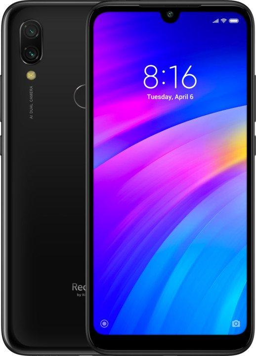 Xiaomi Redmi 7, 32GB, Dual SIM, čierny