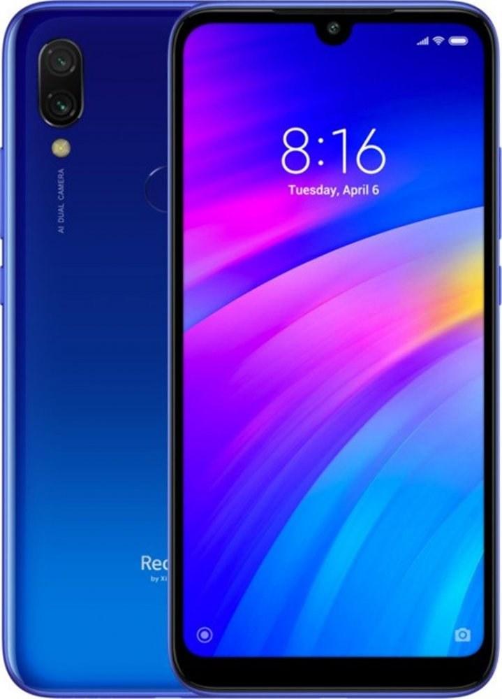 Xiaomi Redmi 7, 32GB, Dual SIM, modrý