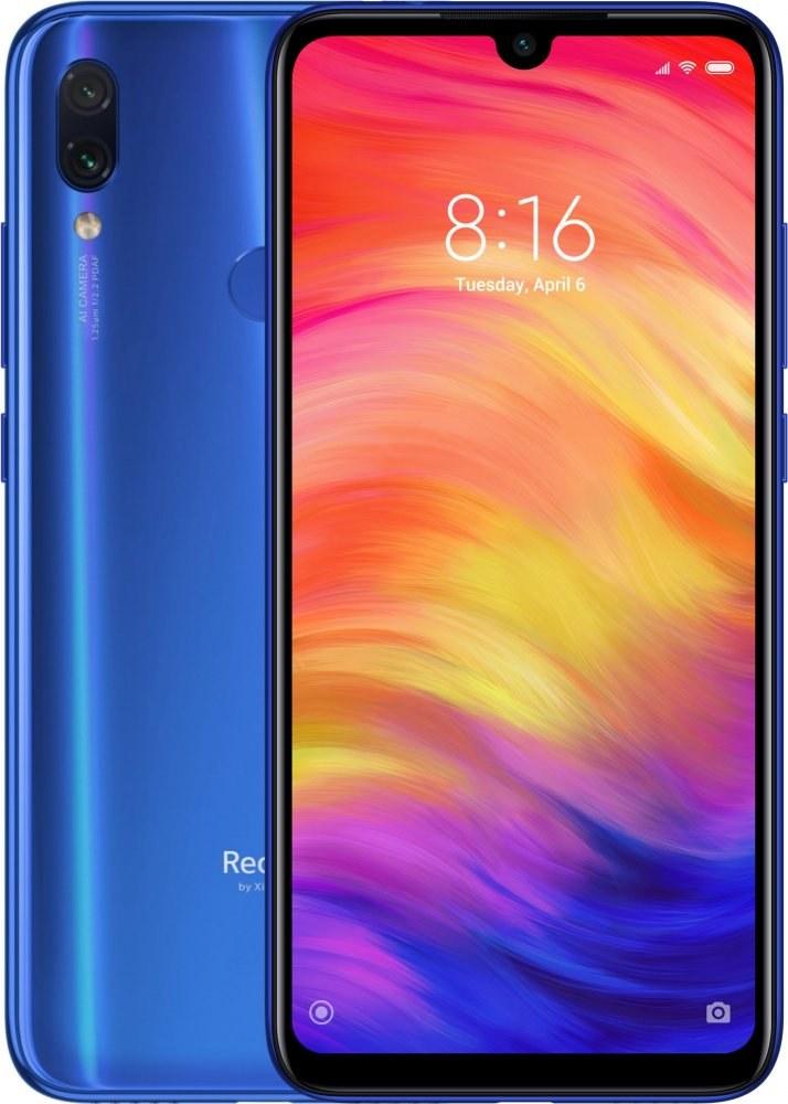 Xiaomi Redmi Note 7, 32 GB, Dual SIM, modrý