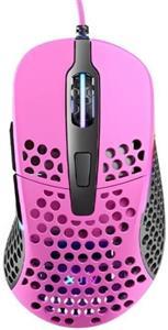 Xtrfy M4 RGB, herná myš, ružová