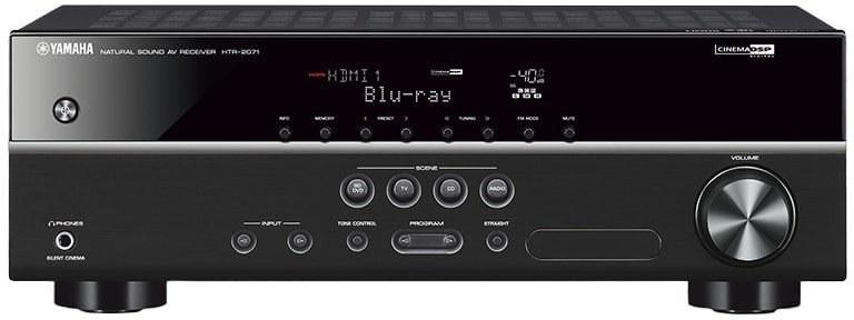 Yamaha HTR-2071, AV receiver, čierny