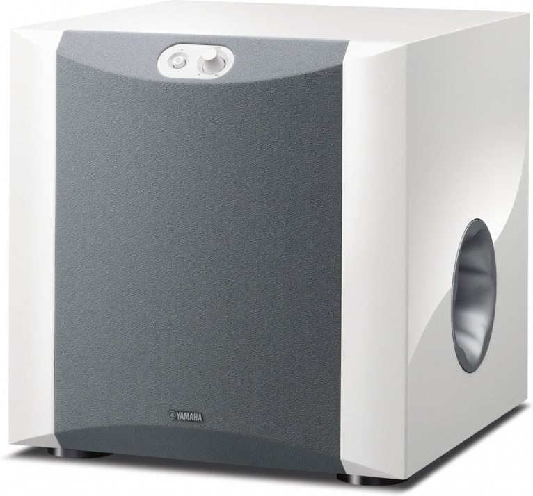 YAMAHA NS-SW300 PIANO WHITE, subwoofer, biely