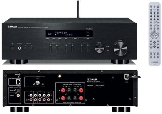 YAMAHA R-N303D, stereo receiver, čierny