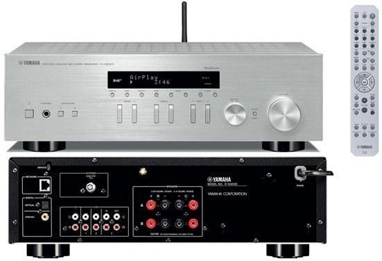 YAMAHA R-N303D, stereo receiver, strieborný