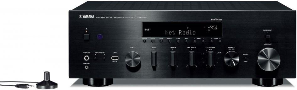 YAMAHA R-N803D, stereo reciever, čierny