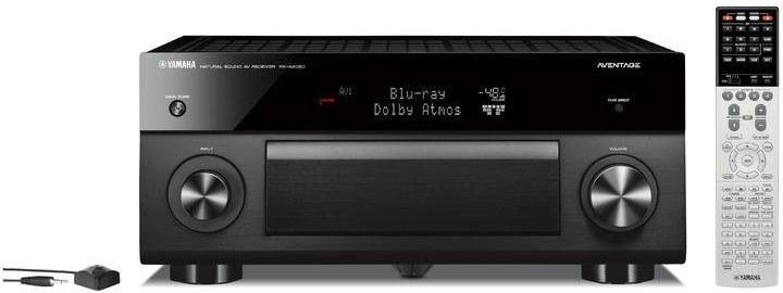 Yamaha RX-A2060, AV receiver, čierny