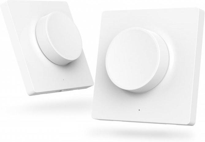 Yeelight Smart Wireless Dimmer, bezdrôtový stmievač, biely