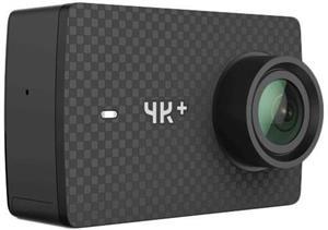 YI 4K+, akčná kamera + vodoodolný kryt, čierna