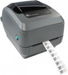 Zebra GK420t, USB+RS232+LPT, odlepovač