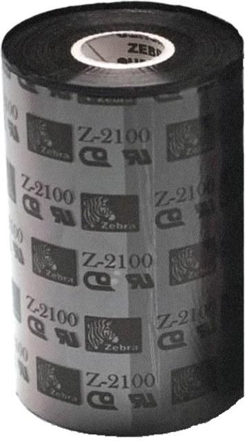 Zebra páska 2100 Wax. šírka 110mm. dĺžka 450m, 1 kus