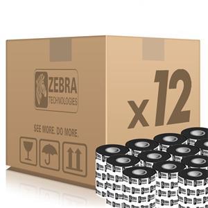 Zebra páska 2300 Wax., šírka 33mm, dĺžka 74m, cena za 1 kus (12ks v balení)