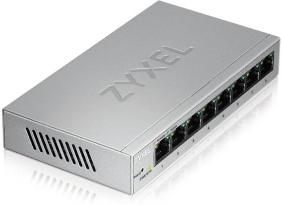 Zyxel GS1200-8, 8 Port Gigabit webmanaged Switch